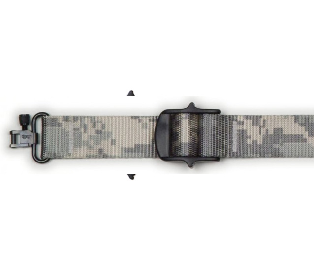 Unpadded Nylon Rifle Slings Bandera Usa Fine Leather